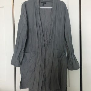 Eileen Fisher XL dress long jacket